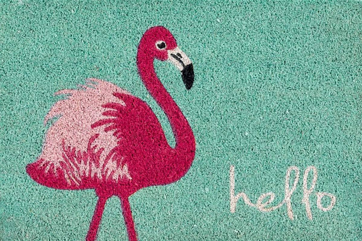 Coco Style Flamingo
