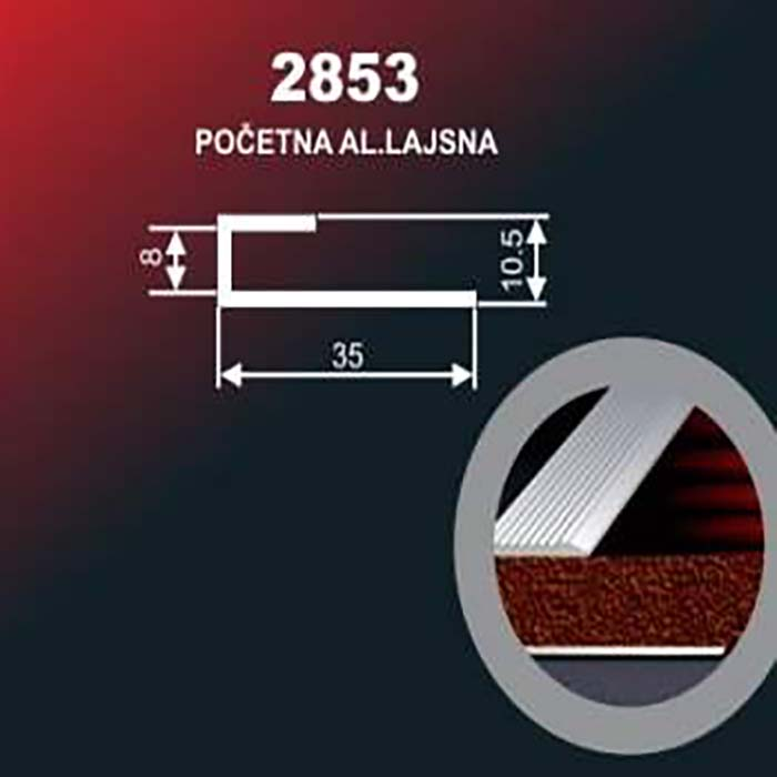 Alu lajsna 2853