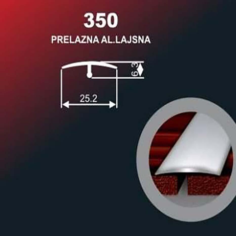 Alu lajsna 350