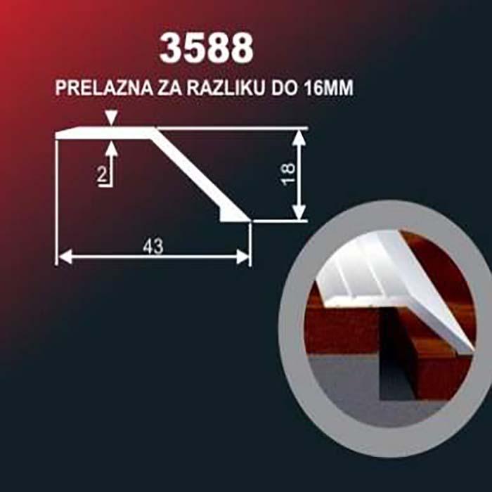 Alu lajsna 3588