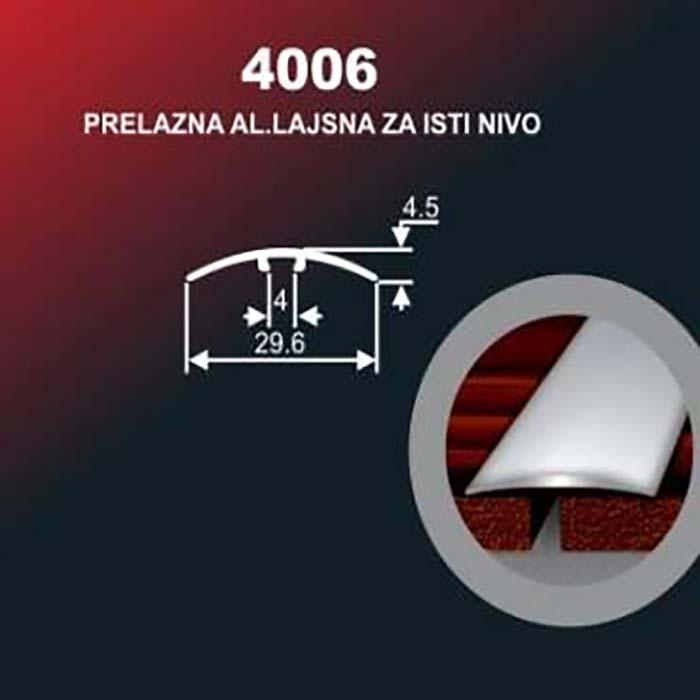 Alu lajsna 4006