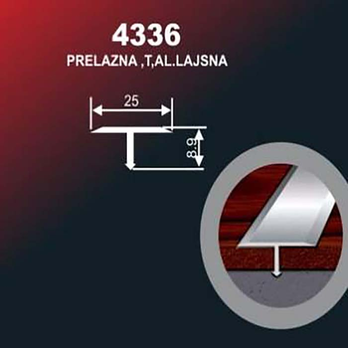 Alu lajsna 4336